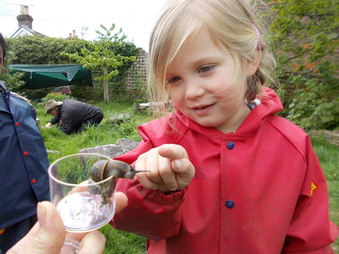 Forest School at Dorking Nursery School and Family Centre